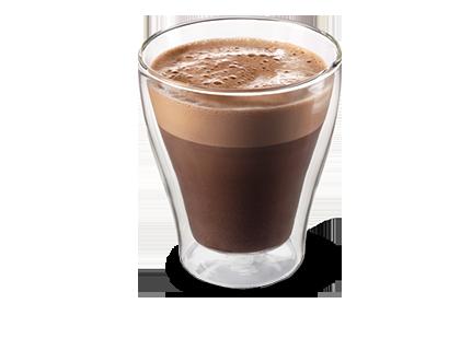 Kakaotraum  sahnig aufgeschlagen