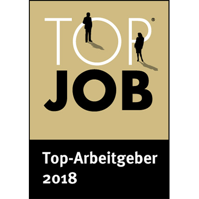Top Job 2018Top-Arbeitgeber 2018